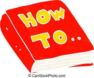 cartoon how to book