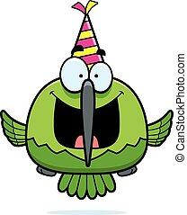 Cartoon Hummingbird Birthday Party