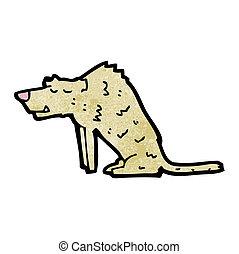 cartoon hyena