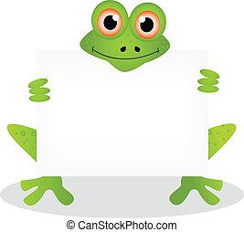 cartoon illustration of frog 4