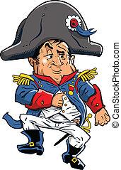 Napoleon - Cartoon Illustration of Napoleon