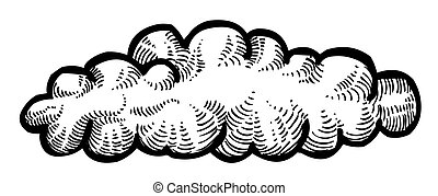 Cartoon image of Cloud Icon
