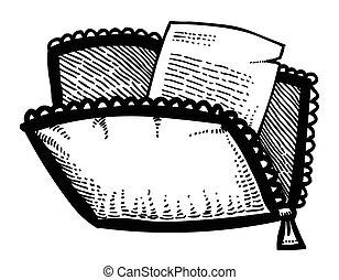 Cartoon image of File