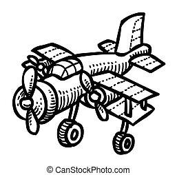 Cartoon image of Plane
