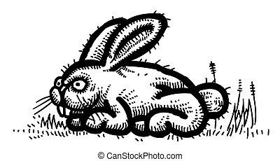 Cartoon image of Rabbit