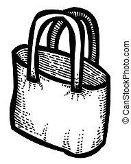 Cartoon image of Shopping bag