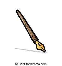 cartoon ink pen