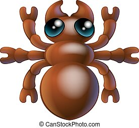 Cartoon insect ant bug