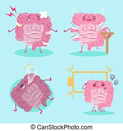 cartoon intestines feel pain
