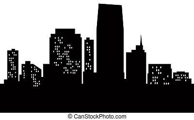 Cartoon Jersey City