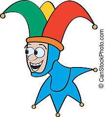 Cartoon Jester
