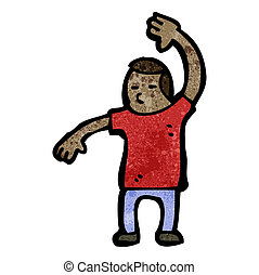 cartoon judo chop