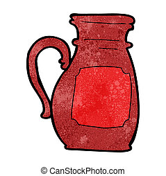 cartoon jug