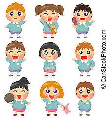 cartoon kid icon