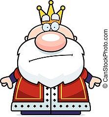 Cartoon King Bored