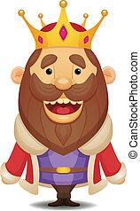 Cartoon King - Cute Cartoon Character