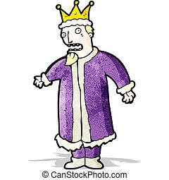 cartoon king