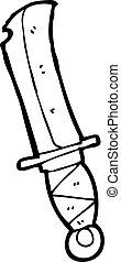 cartoon knife