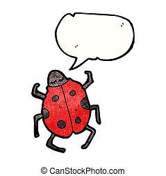 cartoon ladybug