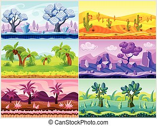 Cartoon Landscape Collection