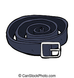 cartoon leather belt