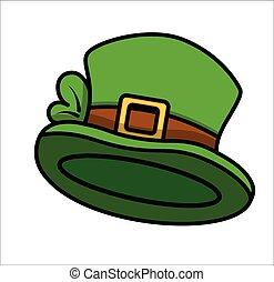 Cartoon Leprechaun Hat