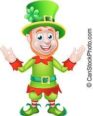 Cartoon Leprechaun - Leprechaun St Patricks Day cartoon...