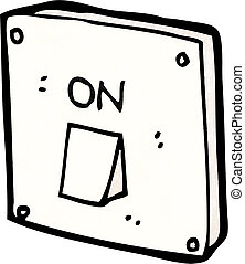 Light switch illustrations and clipart 8381 light switch royalty cartoon light switch sciox Gallery