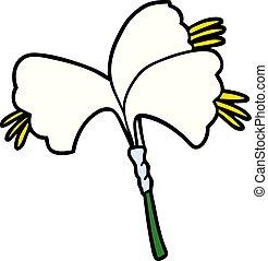 cartoon lillies