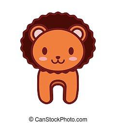 cartoon lion animal image