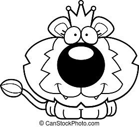 Cartoon Lion King