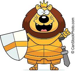 Cartoon Lion King Armor Idea