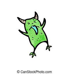cartoon little imp