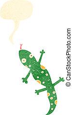 cartoon lizard