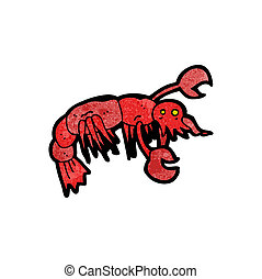 cartoon lobster