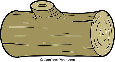 cartoon log