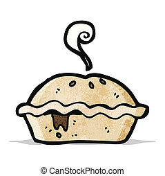 cartoon meat pie