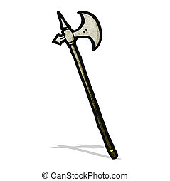 cartoon medieval weapon