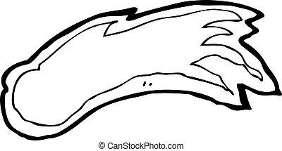 cartoon meteor