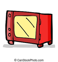 cartoon microwave