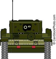 Cartoon Military Army Tank