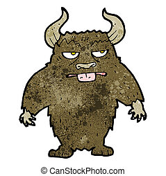 cartoon minotaur