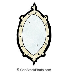 cartoon mirror
