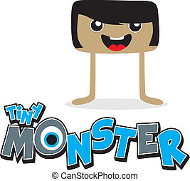 cartoon monster character