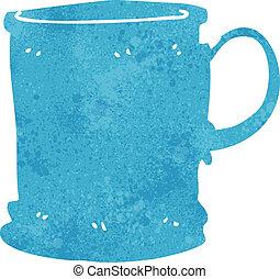 cartoon mug