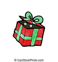 cartoon mystery present