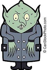 Cartoon Nosferatu Vampire