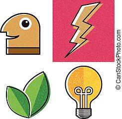 Cartoon object design
