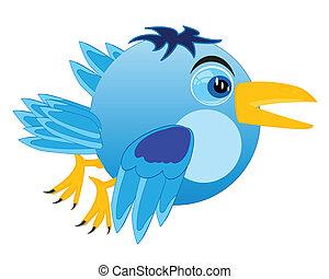 Cartoon of the birdie