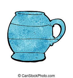 cartoon old style mug